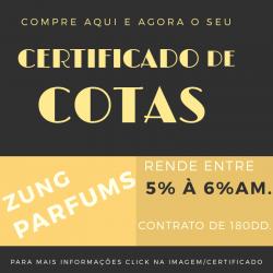 CERTIFICADO DE COTAS ! (Oportunidade)